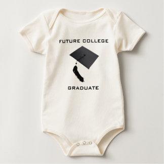 Body Futur diplômé d'université de bébé