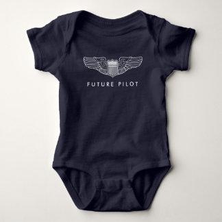Body Futures ailes pilotes de bébé dans le blanc