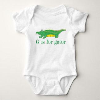 Body G est pour le crocodile de Croc d'alligator de