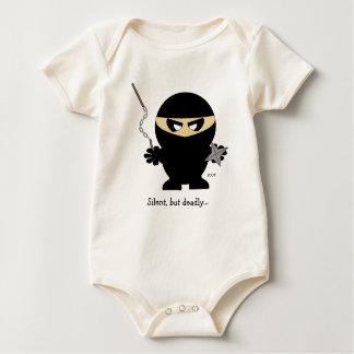 Body garçon de ninja, silencieux, mais extrêmement…,