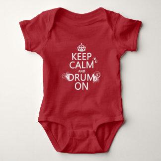 Body Gardez le calme et battez du tambour sur (toute
