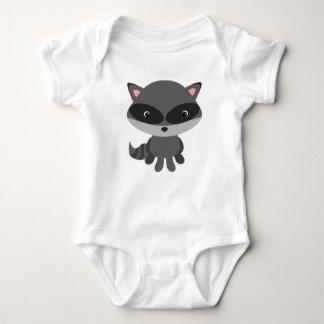 Body Gilet mignon de bébé de raton laveur