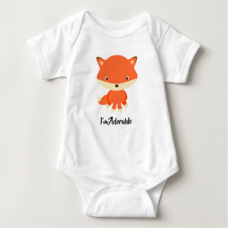 Body Gilet mignon de bébé de renard