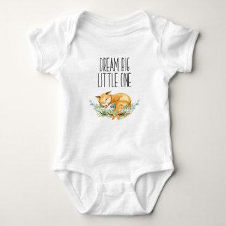 Body Grand petit un Fox rêveur Babygrow
