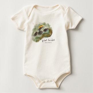 Body Grande combinaison de bébé de calao