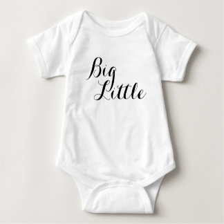 Body Grande petite chemise de grande soeur de frère de
