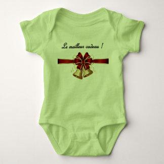 Body Grenouillère de Noël versent le bébé/Noël Onsie
