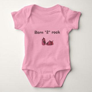 Body guitare de bébé, roche soutenue de *2*