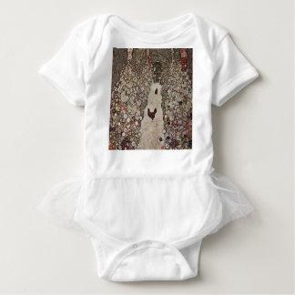 Body Gustav Klimt - jardin avec des coqs