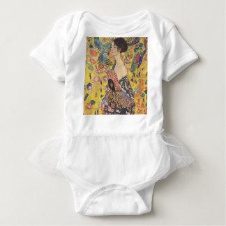 Body Gustav Klimt - Madame With Fan Painting