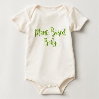 Body Habillement Basé sur Plante organique de bébé