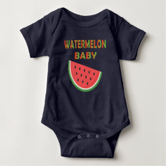 Body Habillement de bébé de pastèque