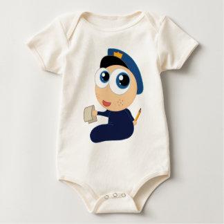 Body Habillement de nourrisson de policier de bébé