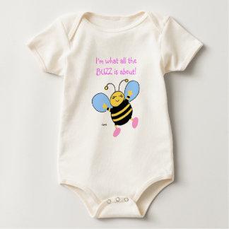 Body Habillement mignon de bébés d'abeille