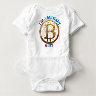 Body Habillement militaire de bébé de Bitcoin