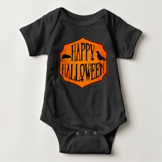 Body Halloween heureux Raven et combinaison de bébé de
