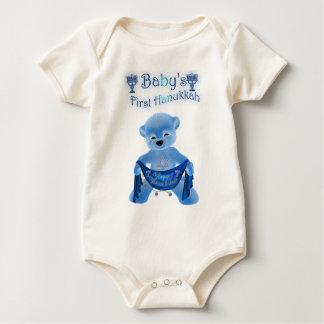 Body Hanoukka du bébé premier se développent avec le