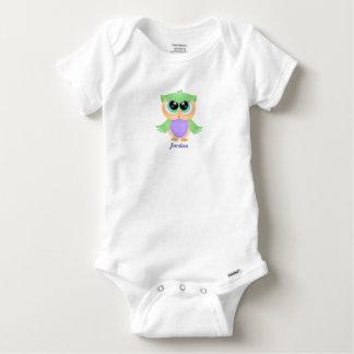 Body Hibou mignon du bébé du bébé