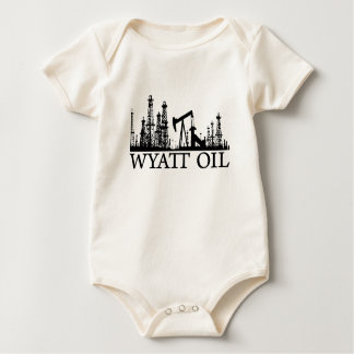 Body Huile de Wyatt/bébé/logo noir