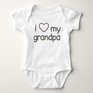 Body I coeur mon grand-papa