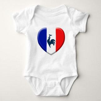 Body J'aime coq drapeau France