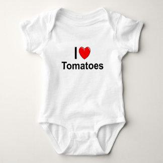 Body J'aime des tomates de coeur