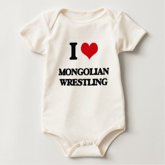 Body J'aime la lutte mongole