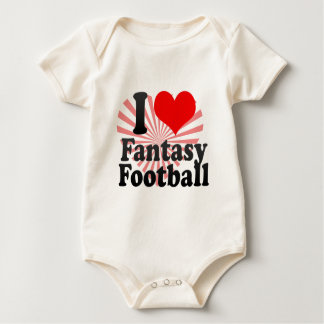 Body J'aime le football d'imaginaire