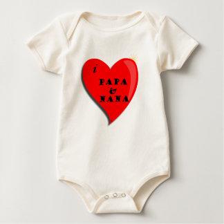 Body J'aime le papa et la Nana