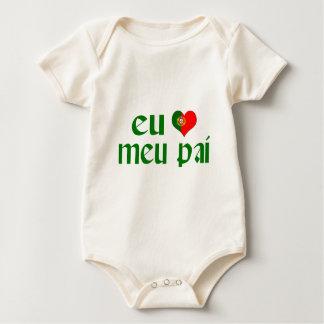 Body J'aime le papa - Portugais