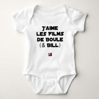 Body J'aime les Films de Boule (& Bill) - Jeux de Mots