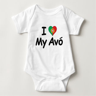 Body J'aime mon Avo (la grand-mère)
