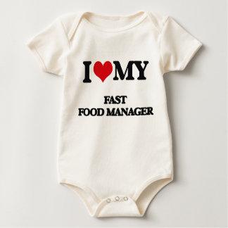 Body J'aime mon directeur d'aliments de préparation