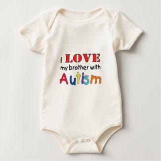 Body J'aime mon frère avec l'autisme