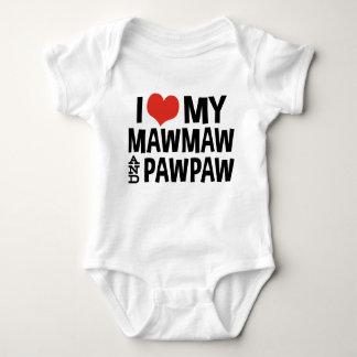 Body J'aime mon MawMaw et papaye