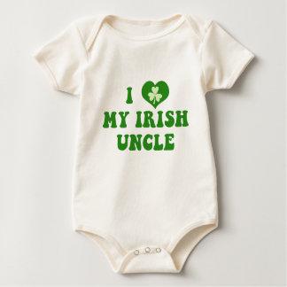 Body J'aime mon oncle irlandais Baby Shirt