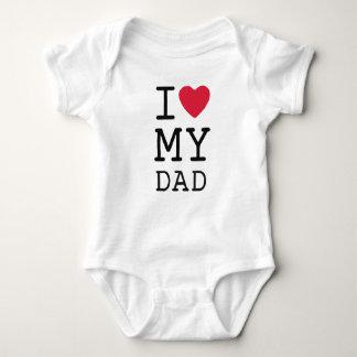 Body J'aime mon papa par de mini frères