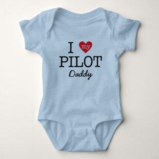 Body J'aime mon papa pilote
