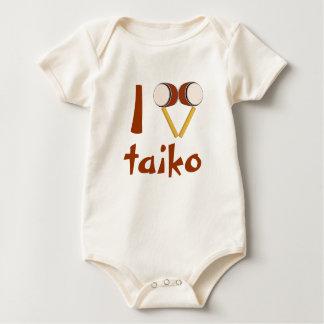 Body J'aime Taiko battant du tambour des tambours