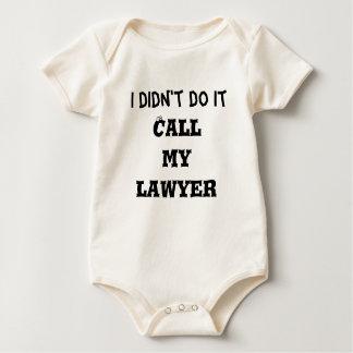 Body Je ne l'ai pas fait, appelle mon avocat