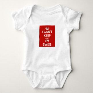 Body Je ne peux pas garder le calme que je suis suisse