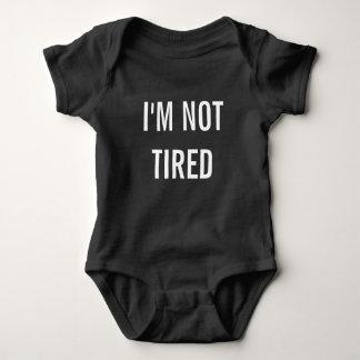 Body Je ne suis pas nouveau cadeau fatigué de bébé