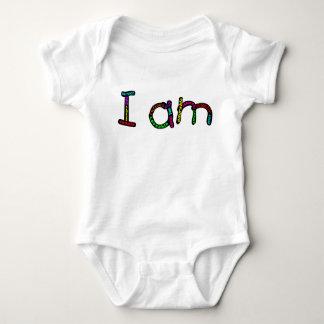 Body Je suis combinaison de jersey de bébé