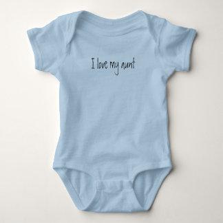 """Body """"Je vêtement une pièce de bébé aime ma tante"""","""