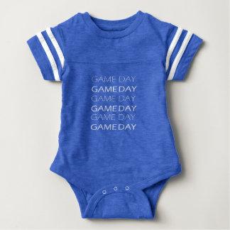 Body Jersey de jour de jeu, combinaison de bébé, le
