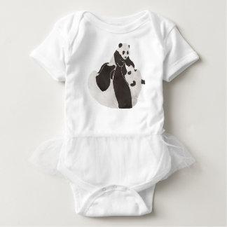 Body Jeu de panda de mère et de bébé