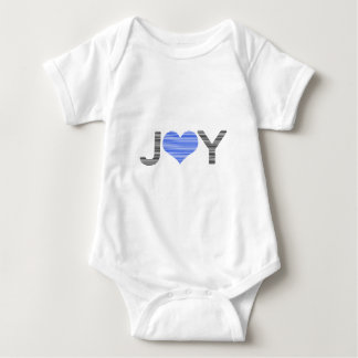 Body Joie - coeur - noir et bleu