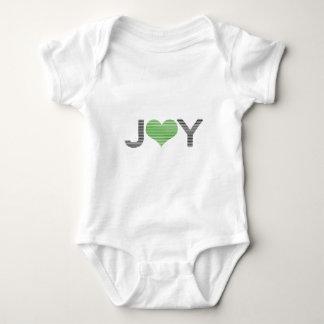 Body Joie - coeur - noir et vert