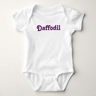 Body Jonquille de bébé d'habillement