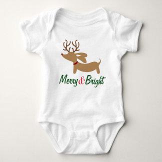 Body Joyeux et intelligent bébé d'équipement de Noël de